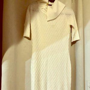Ivory Sweater Dress SIZE SM
